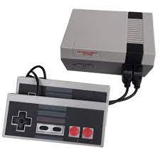 Bộ Máy Chơi Game 600 Trò Cổ Điển Kèm 2 Tay Cầm Điều Khiển Cho Nintendo Nes