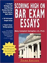 Bar Exam Essays Scoring High On Bar Exam Essays In Depth Strategies And