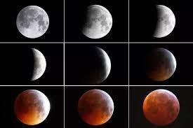 """ประมวลภาพ """"ซุปเปอร์จันทรุปราคา"""" ราหูอมจันทร์ขณะโคจรใกล้โลกมากที่สุด"""