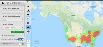 Heat Map Software Heat Map Generator Maptive