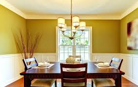 Painting Dining Room Classy Dining Room Painting Ideas With Chair Rail Paint Full Size Of R