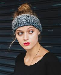 Knitted Headband Pattern Cool Decorating Design