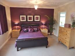 accent walls for bedrooms. Purple Accent Wall Design For Modern Bedroom Walls Bedrooms