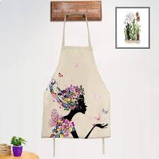 Kitchen Cooking <b>Apron Creative</b> Cartoon <b>Sleeveless</b> Oil-proof Home ...