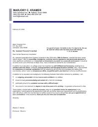 finance entry level cover letter