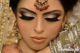 latest indian bridal eye makeup 2016 smokey