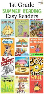 summer reading list for kids who are entering 1st grade easy beginning reader books