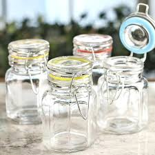 glass jars with clamp lids here for a larger view round glass jars with clamp