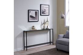 blucat narrow long console table with