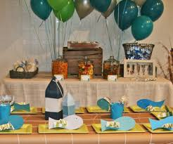 Party Table Decor Beach Party Table Decorations Party Decoration Picture