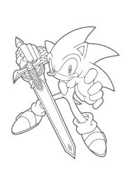 Metal Sonic Coloring Pages Predragterziccom