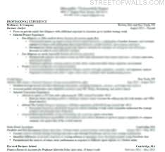 Consulting Resume Simple Consulting Resume Cover Letter Street Of Walls