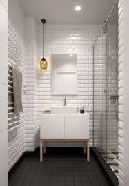 White Tile Bathrooms