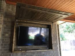 stylish project spotlight outdoor tv cabinet with a texas touch diy the most cabinets regarding 18