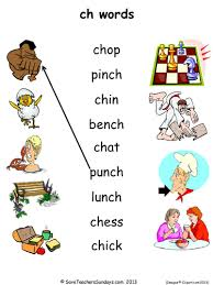 Free printable phonics workbook and printable worksheets for consonant digraphs: Ch Phonics Activities Teaching Resources