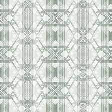 London Deco Wallpaper Sage - 17 ...