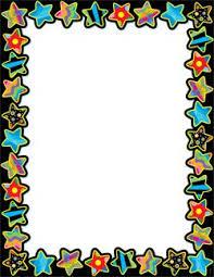 Chart Border Decoration Ideas Poppin Patterns Stars Classroom Essentials Chart Blank