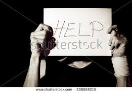 suicidal depression man holding help sign stock photo  suicidal depression man holding help sign paper
