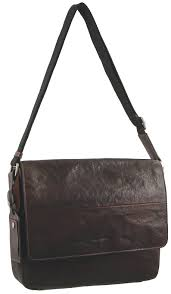 pierre cardin genuine leather 13 inch laptop bag brown pc2796
