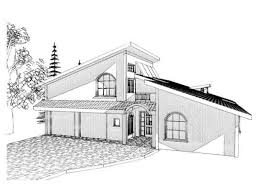 Modern Style Architectural Drawings Of Houses And Architectural