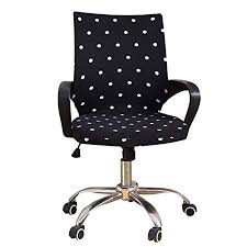 computer chair slipcover. Exellent Slipcover Office Chair Cover Stretchable Swivel Computer Slipcover Protector  Armchair Elastic Seat Slipcover Only And Amazon UK