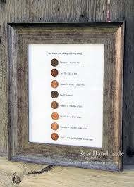 best 25 parents anniversary gifts ideas on pinterest Wedding Anniversary Gifts For Parents 35 Years i loved the idea of using pennies from significant years as some sort of decor 40th wedding anniversary Best Anniversary Gift for Parents