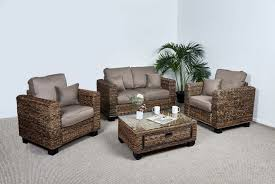 kensington 2 seat table with 2 armchairs and coffee table in autumn biscuit