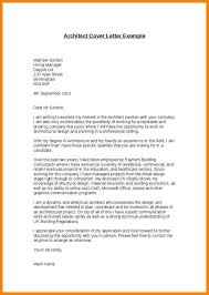 6 Architecture Cover Letter Sample Wsl Loyd