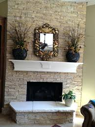 faux stacked stone fireplace faux stacked stone fireplace surround
