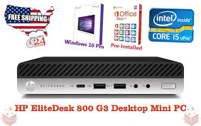 hp elitedesk 800 g3 desktop mini core i5 6600t 2 70 ghz ram 8 gb 256gb ssd