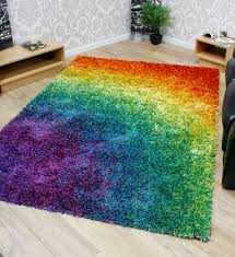 colorful rugs. When Rainbows In The Sky Are Not Enough These Funky Rainbow Colored Area Rugs Come Multiple Designs, Styles And Shades So You Can Bring Them Your Home Colorful G