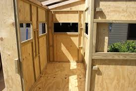4x4 Shooting House With Sliding Plexiglass Windows Camouflaged Homemade Deer Blind Windows