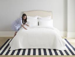 How to make bed sheet Ruffled Curtains Stop Ironing Every Sheet And Pillow Many Purists Insist On Ironing To Achieve The Photoready Bed But Youre Allowed To Cut Corners Brit Co How To Make Your Bed The Right Way Brit Co