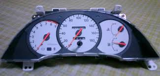 toyota celica generations making the led meter for st202 like st202 beams white meter
