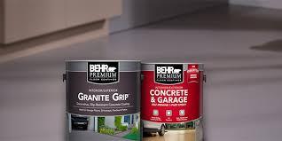 behr concrete and garage floor paint