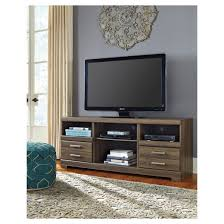 lg tv stand. frantin brown - lg tv stand with fireplace option signature design by ashley lg tv