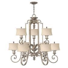 kingsley 9 light chandelier hinkley lighting