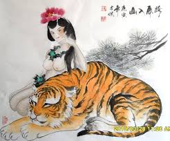 chinese tiger drawing. Delighful Tiger Tiger69cm X 69cm27 274745004z To Chinese Tiger Drawing H