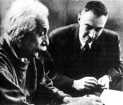 the manhattan project and the atomic bomb article khan academy photograph of albert einstein and j robert oppenheimer