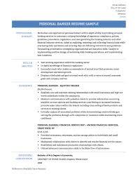Resume Samples For Banking Banking Resume Samples Mortgage Banker