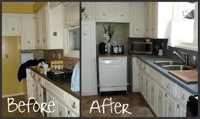 kitchen countertop - a spray paint affair
