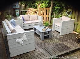 furniture made of pallets. Patio Furniture Made From Wood Pallets Of