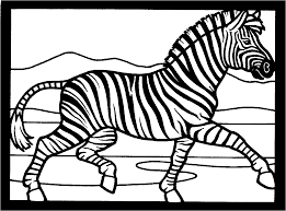 African Animals Coloring Pages Download Bear