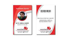 Id Staff 68 By Mmasumbillah57 Card For Design Entry Freelancer