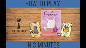 How To Play Cat Lady In 3 Minutes The Rules Girl Youtube