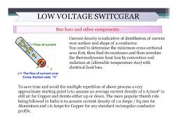 Lv Switchgear Lv Cable Sizing