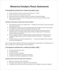 example of rhetorical essay rhetorical analysis essay example  example of rhetorical essay sample rhetorical analysis essay rhetorical essay thesis