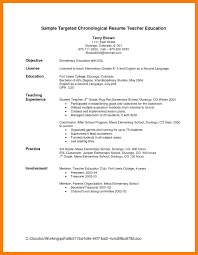 Objective For Teaching Resume 100 teacher resume objective self introduce 68