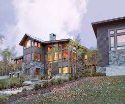 Exterior Exciting Home Architecture Design Ideas Using Light Grey - Home exterior design ideas