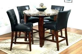 round dining room sets for 4 dining room sets 4 chairs pub table and stools round